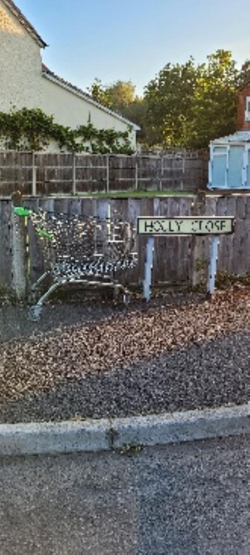 asda trolley Holly road-18 Holly Road, Farnborough, GU14 0EA