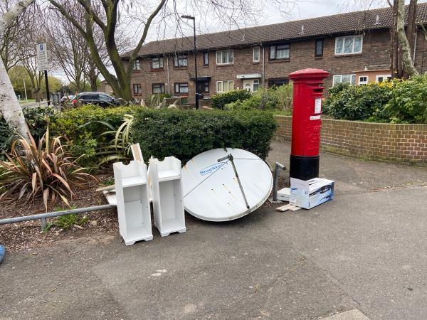 Satellite -2 Parry Avenue, London, E6 5NE