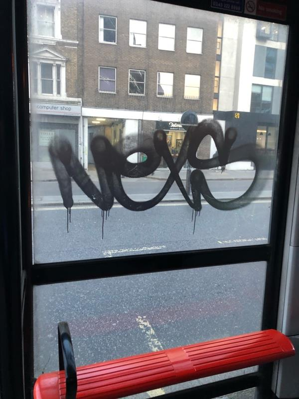 Outside Virgin Active Aldersgate St  Referred to TFL.-100 Aldersgate Street, London, EC1A 4LX