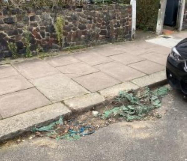 Please clear builders waste-14 Siddons Road, London, SE23 2JQ