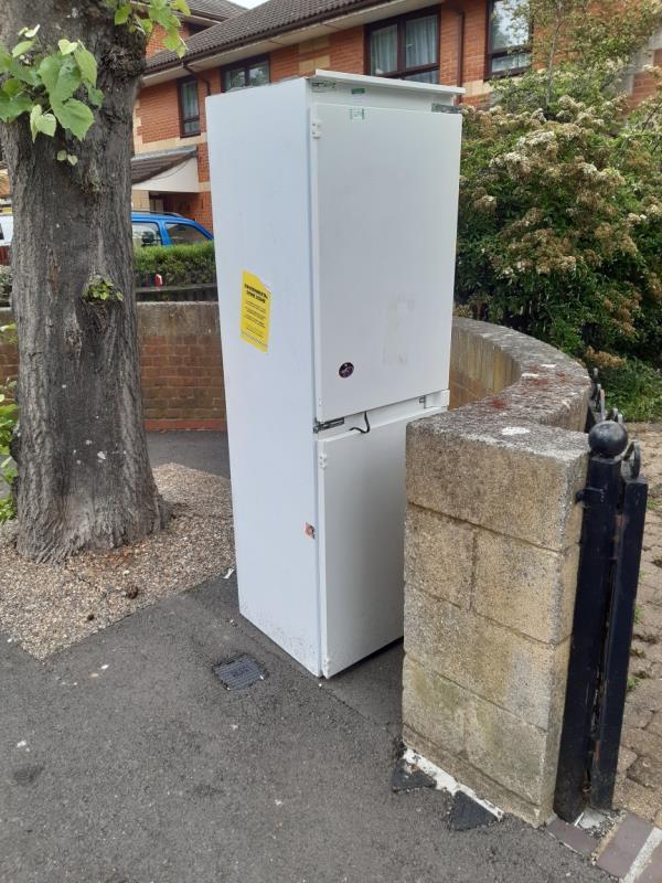 Fridge freezer -83 Eisenhower Drive, London, E6 5JW