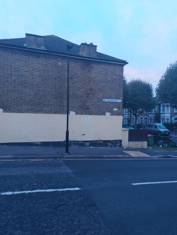 Alcohol related litter on queens rd West outside lister-94 Queen's Rd W, London E13 0PF, UK