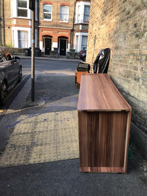 Large furniture -21b Peak Hill Gardens, London, SE26 4LE
