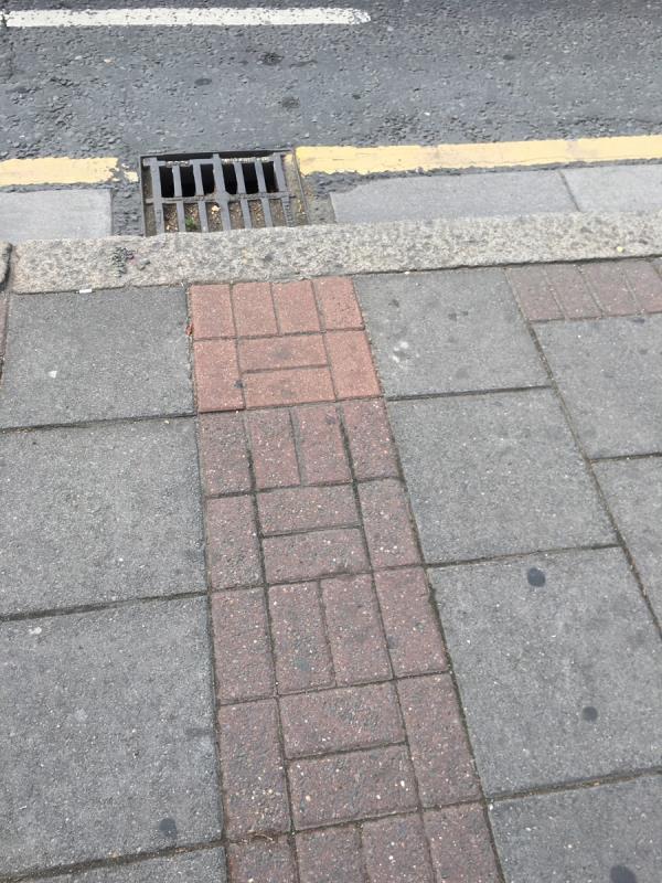 Gully is blocked -487 Barking Road, London, E6 2LN