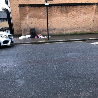 Rubbish-1 Elderfield Road, London, E5 0LG