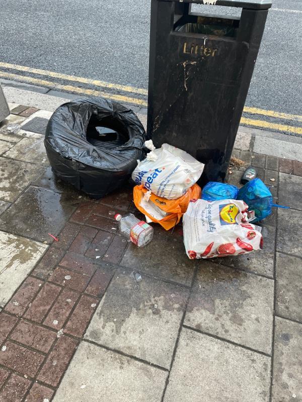 Rubbish -339 High St N, London E12 6PQ, UK