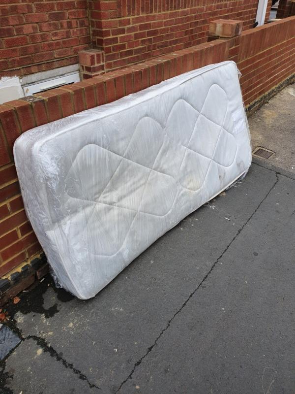 Mattress dumped on cholmeley rd-17 Cholmeley Road, Reading, RG1 3NQ