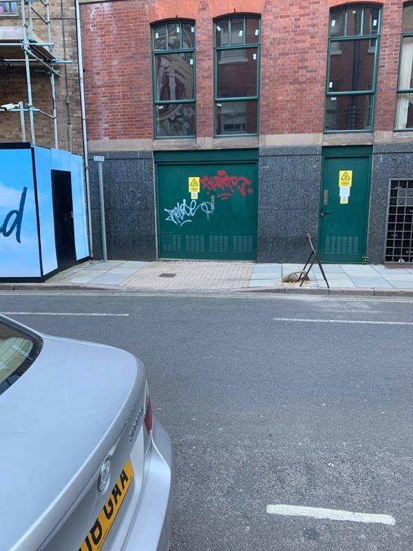 Graffiti -80 Rutland Street, Leicester, LE1 1SB