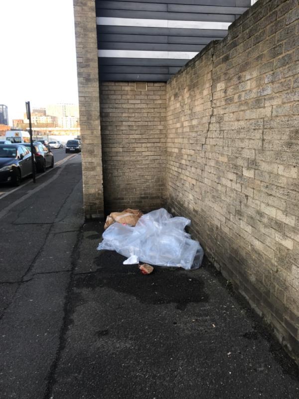 Rubbish-2 Edwin Street, London, E16 1QA