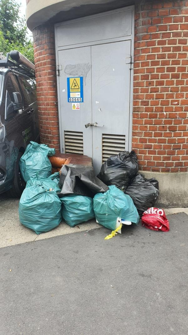 pile of bags-453 Katherine Road, Upton Park, E7 8LS