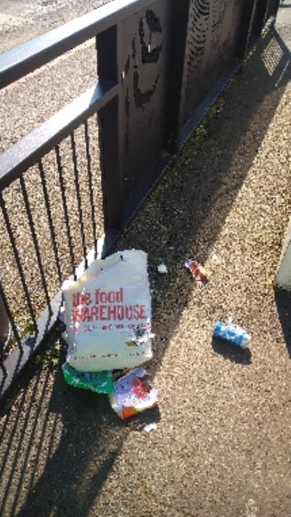 Flytipped bag no evidence taken -452 Northumberland Avenue, Reading, RG2 8NR
