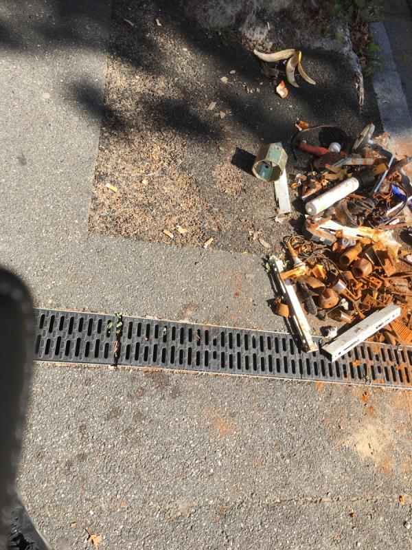 Rubbish dumped-303 Strone Rd, Manor Park, London E12 6TW, UK