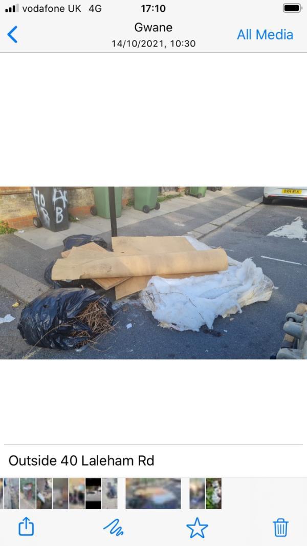 Box's bags Laleham rd-47 Laleham Road, London, SE6 2HU