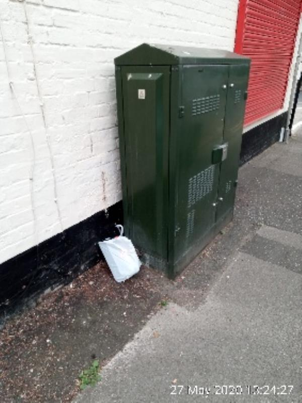 Bag of rubbish -11-13 St Peters Road, Reading, RG6 1NT