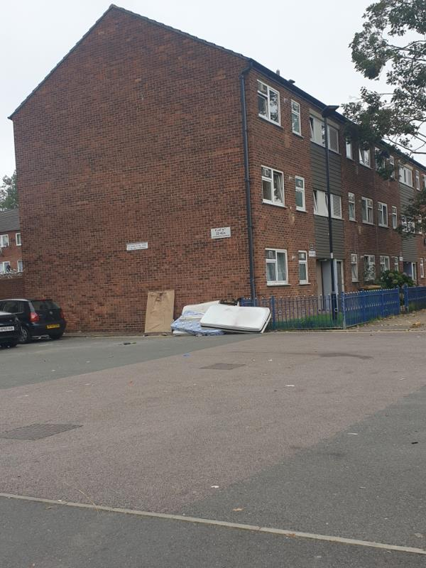 Fly tippers -54 Gainsborough Ave, London E12 6JJ, UK