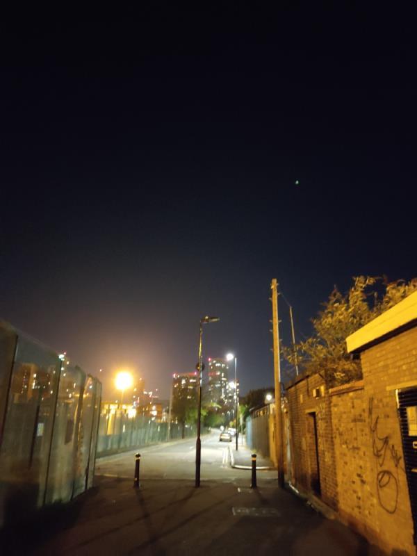 light is not coming on. -20 Mortham Street, London, E15 3LS