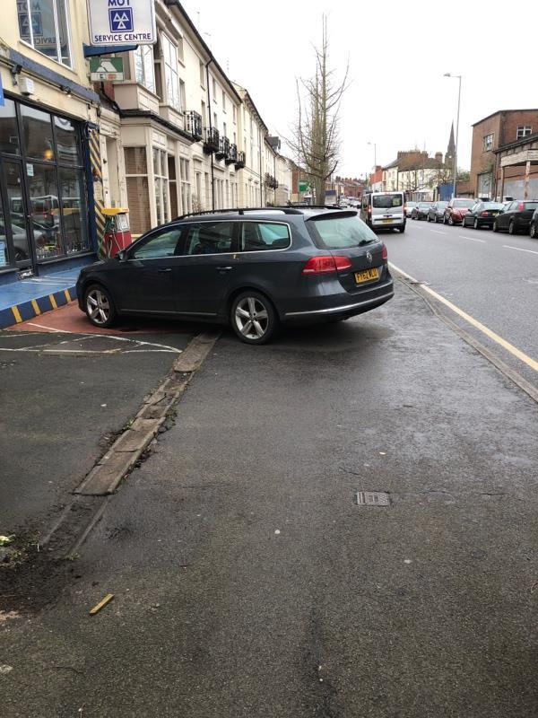 Footpath blocked (often)-42 Compton Road, Wolverhampton, WV3 9PH