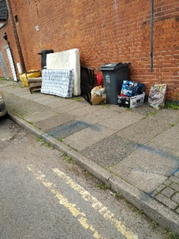 flytipping-102 Beatrice Road, Leicester, LE3 9FL