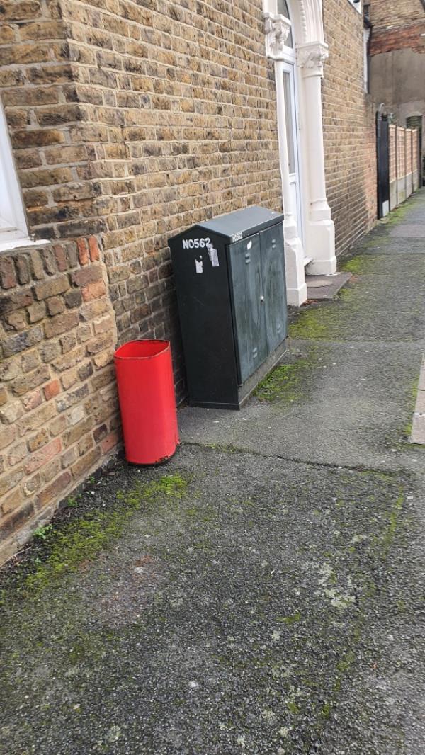 old container -90 Saint George's Road, Upton Park, E7 8HS