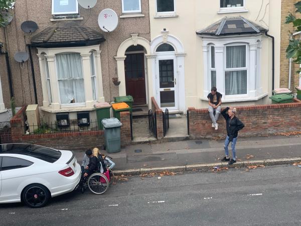Drug Addicts loitering around neighbourhood. image 1-15a Vicarage Road, London, E15 4HD