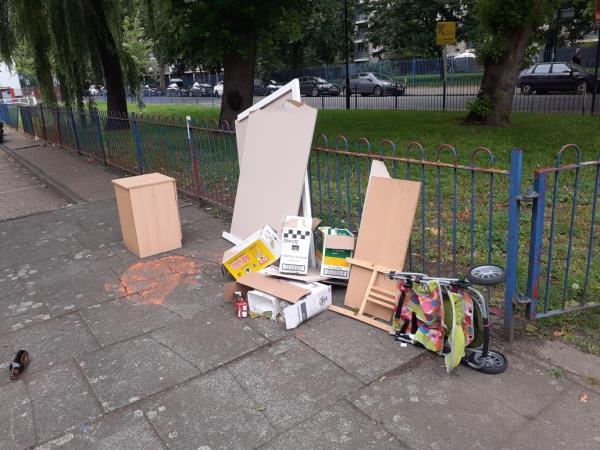 cleared -Woodcote House Prince Street, London, SE8 3LQ
