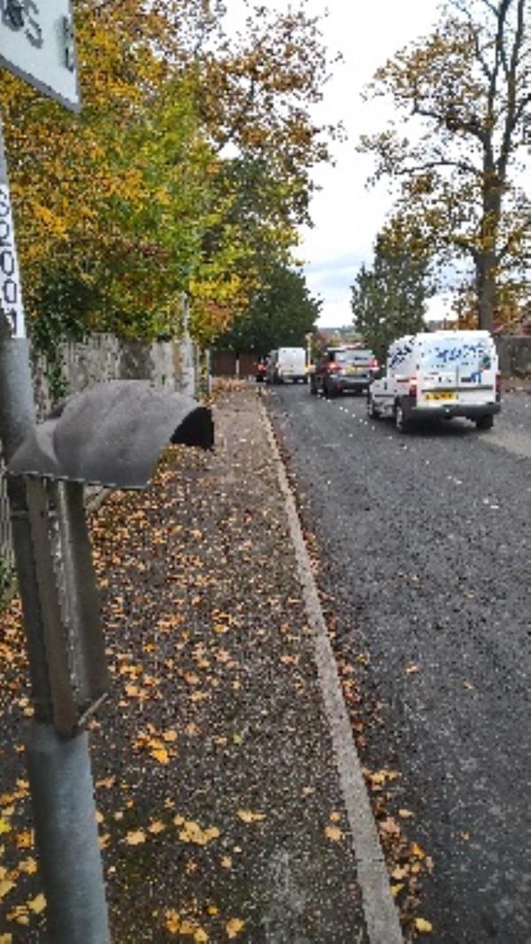 Bin lock broken needs new post bin please -48 Elmhurst Road, Reading, RG1 5HY