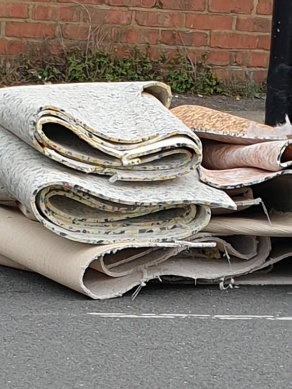 stuff dumped-96 Bradgate Road, London, SE6 4TR