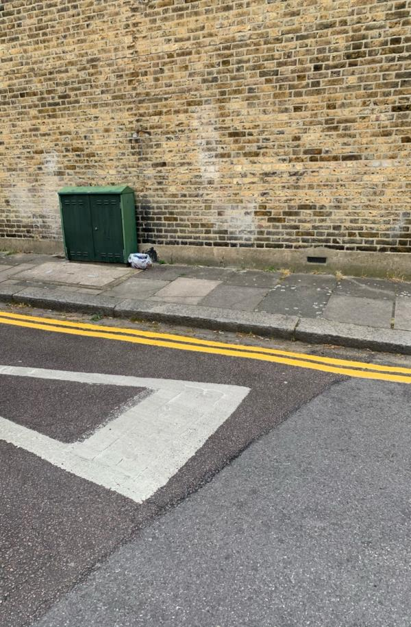On Belton Road next to the electric box -31 Ranelagh Road, Tottenham, N17 6XY