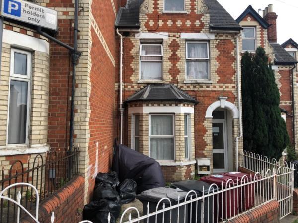 Waste in garden.-75 Hill Street, Reading, RG1 2NT