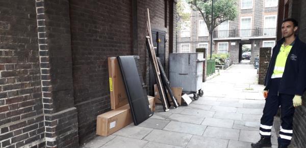 pomona house  boxes,  bedframe -Pomona House Evelyn Street, London, SE8 5RS