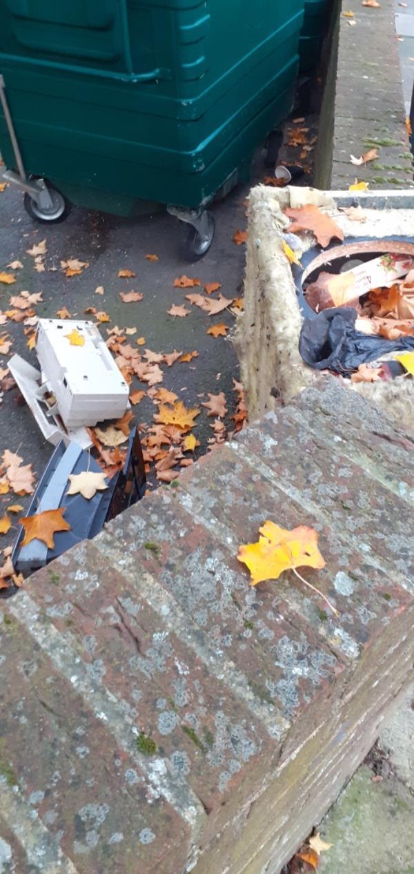 Broken furniture -Fern Court Drakefell Road, New Cross Gate, SE14 5SN