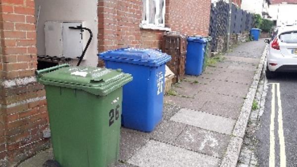Dumped furniture items Corner or Cambridge rd no 26 and Alison Way-26a Cambridge Road, Aldershot, GU11 3JY