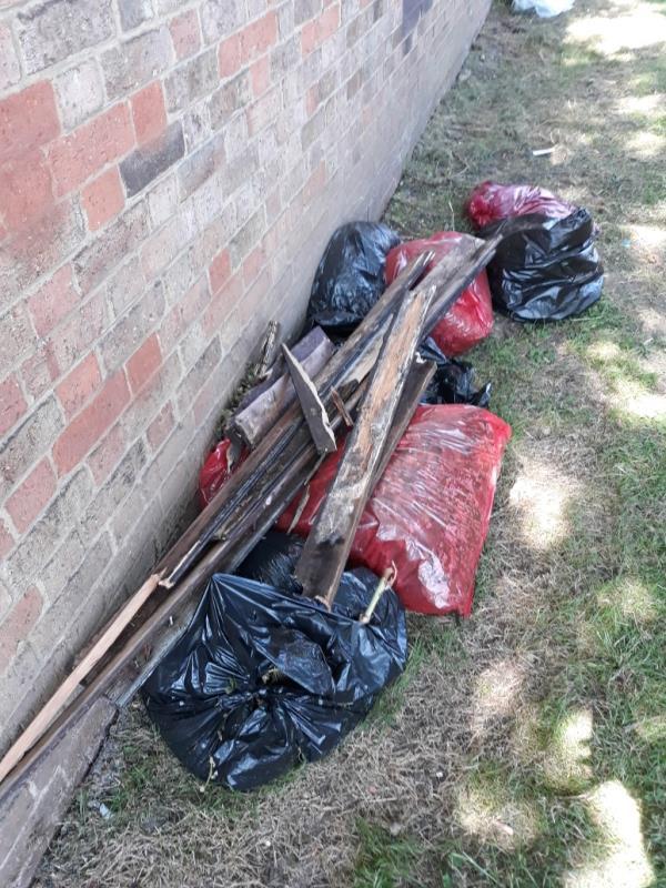 carpet and bags of dirt-74 Sheenewood, London, SE26 6BJ