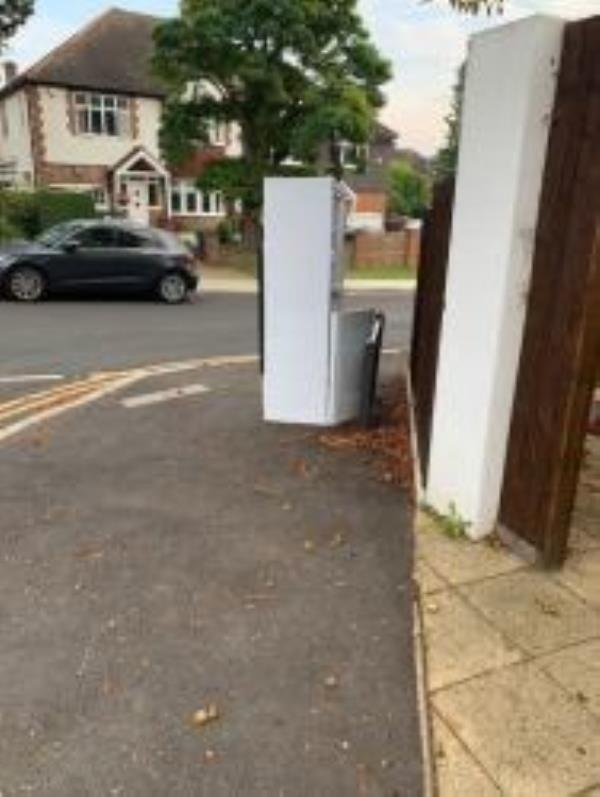 Please clear a fridge. Reported via Fix My Street-1a chiothirne close