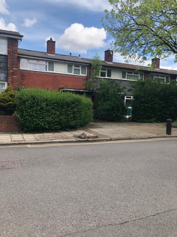 Damage surface presents true hazard-17 Camel Road, North Woolwich, E16 2DD