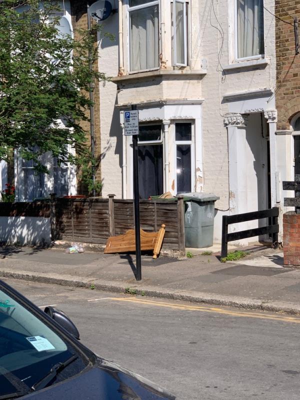 Left outside no 17 Trevelyan road again -17 Trevelyan Road, London, E15 1SU