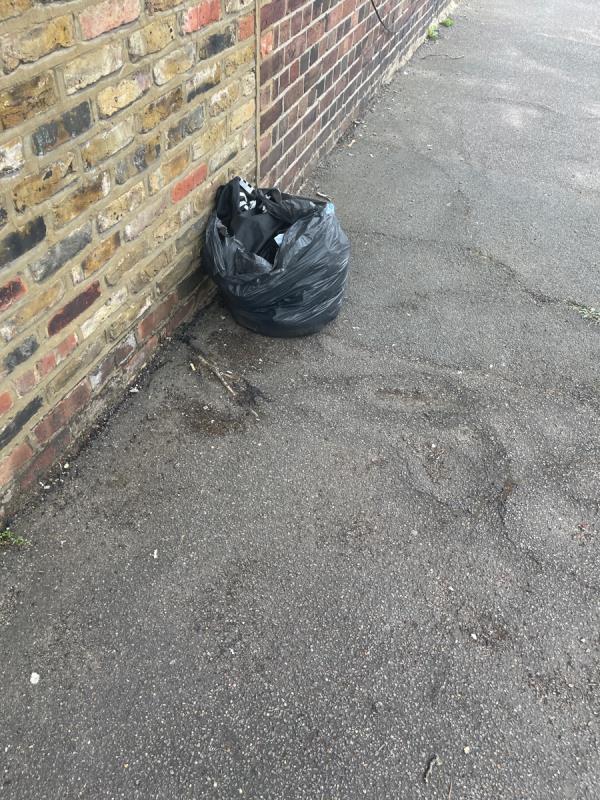 One bag full of textiles -74 Goodhall Street, Kensal Green, NW10 6TX