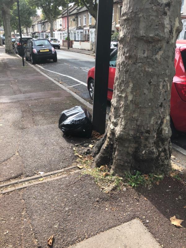 Bag left on the Street-13 Creighton Avenue, East Ham, E6 3DT