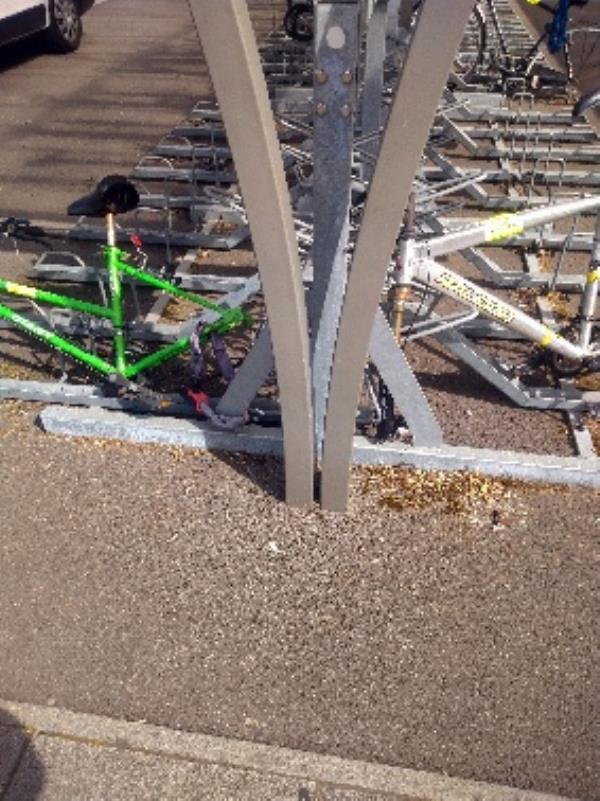 Dumped bikes-Sovereign House, 57-59 Vastern Road, Reading, RG1 8BT