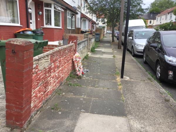 Outside 27 leighton Avenue -25 Leighton Avenue, London, E12 6JW
