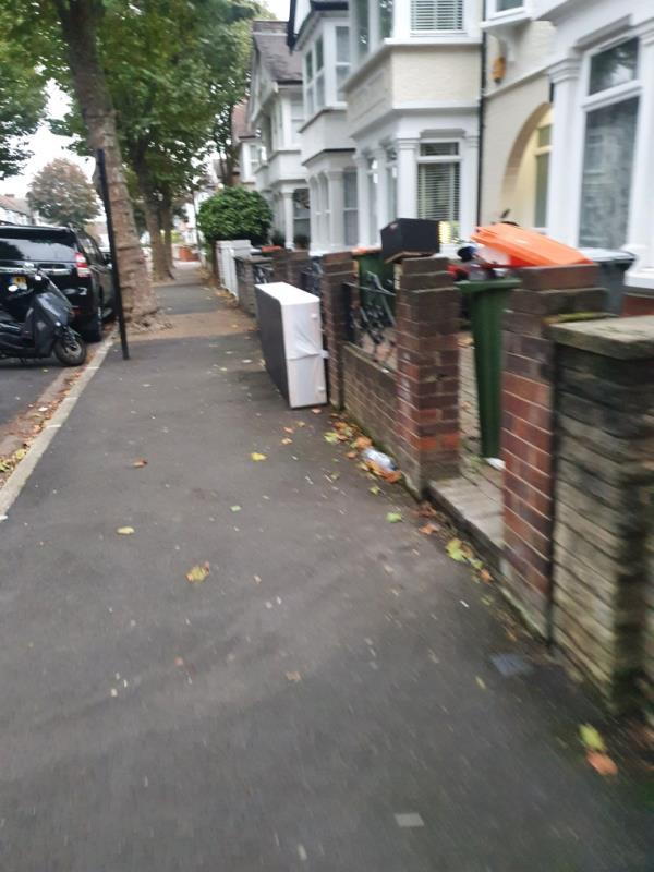 Outside number 40-46 Cotswold Gardens, London E6 3JA, UK