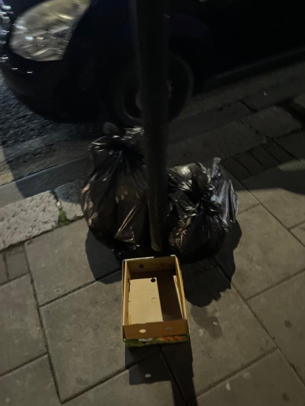 Rubbish -394 High Street North, Manor Park, E12 6RH