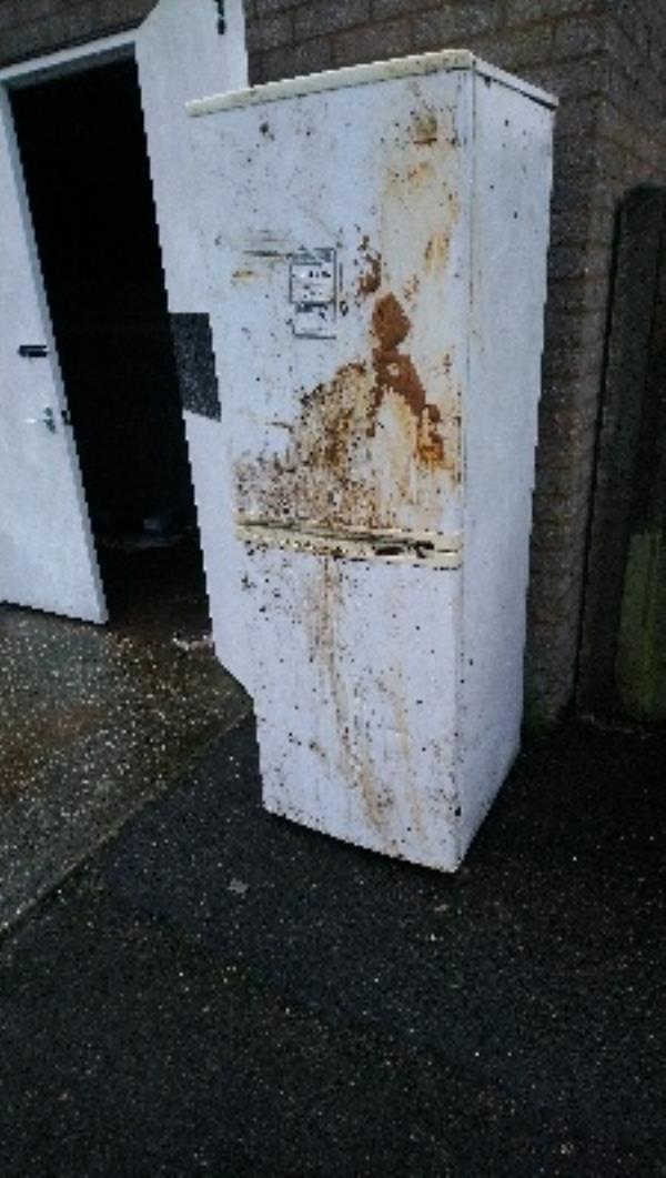 Fly tip in all areas of 36-43 & 44-51 lexington Grove  image 1-36 Lexington Grove, Reading, RG2 8UG