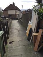 Wood panels dumped image 1-101 Colman Road, Canning Town, E16 3JZ