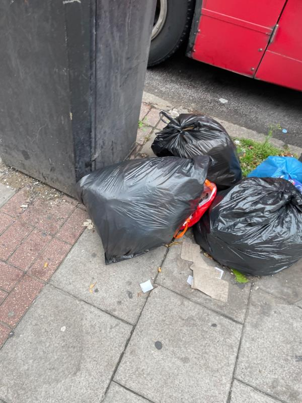 Rubbish  image 1-550A Romford Rd, London E12 5AF, UK