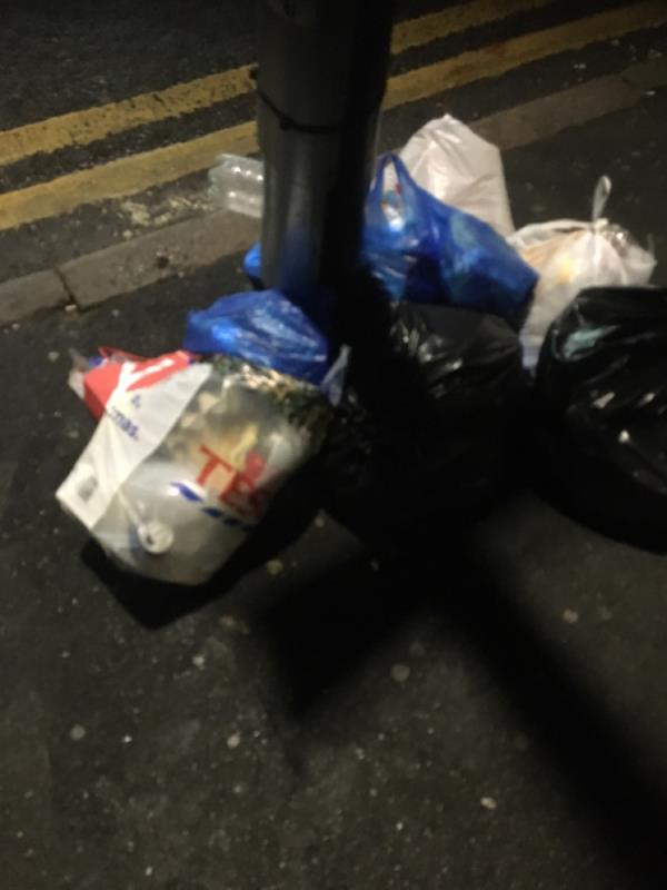 Rubbish removal -89 Katherine Road, East Ham, E6 1EW