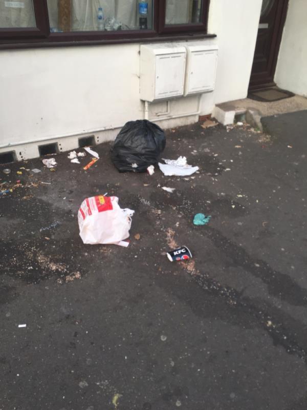 Rubbish image 1-166a Katherine Road, East Ham, E6 1ER