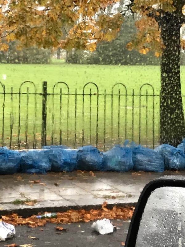 Blue bags - Stainton rd-19 Hospital Way, London SE13 6UF, UK