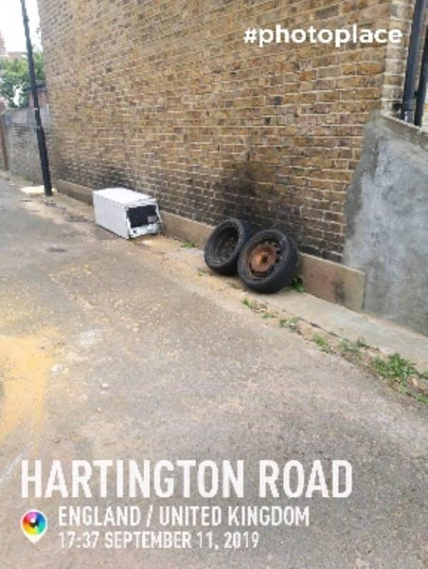fly tip-35 Hartington Road, London, UB2 5AX