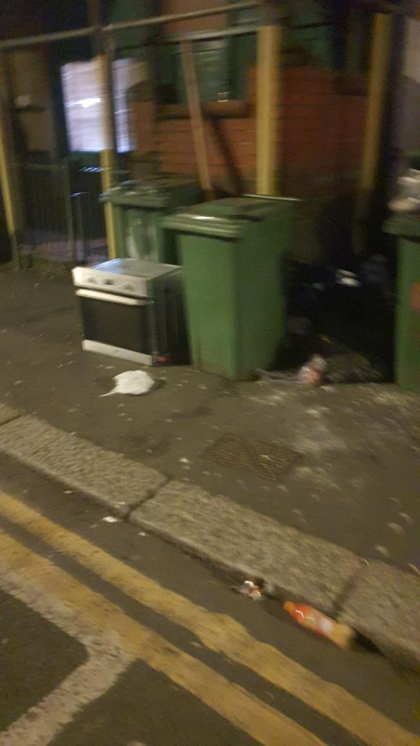 Bags, cooker-22 Saint George's Road, Green Street East, E7 8HY